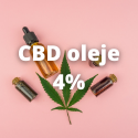 CBD Oleje NORMAL 4%